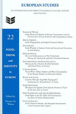 Food  Drink and Identity in Europe