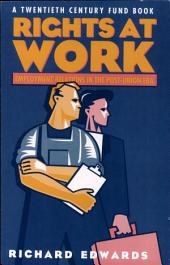 Rights at Work: Employment Relations in the Post-Union Era