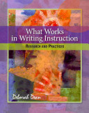 What Works In Writing Instruction Book PDF