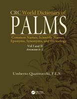 CRC World Dictionary of Palms PDF