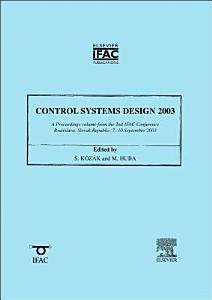 Control Systems Design 2003  CSD  03