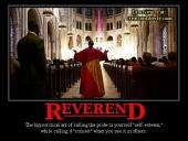 Reverend is an Unbiblical Title