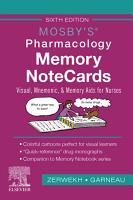 Mosby s Pharmacology Memory NoteCards   E Book PDF