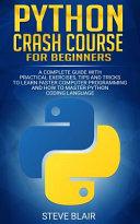 Python Crash Course for Beginners Book