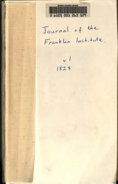 Journal of the Franklin Institute: Volume 1; Volume 5