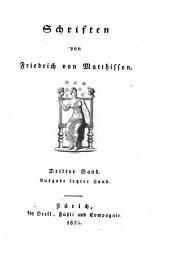 Schriften. - Zürich, Orell 1825-33