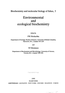 Environmental and Ecological Biochemistry PDF