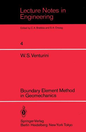 Boundary Element Method in Geomechanics