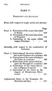 A Key to the Exercises Adapted to Murray's English Grammar: Calculated to Enable Private Learners to Become Their Own Instructors, in Grammar and Composition