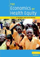 The Economics of Health Equity PDF