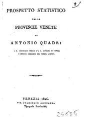 Prospetto Statistico Delle Provincie Venete