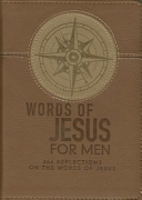 Lux Leather Brown   Words of Jesus for Men PDF