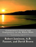 Commentary Critical and Explanatory on the Whole Bible PDF