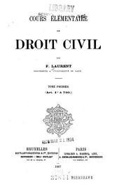 Art. 1 à 710