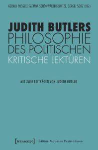 Judith Butlers Philosophie des Politischen PDF