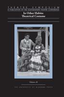 Theatre Symposium  Vol  26 PDF