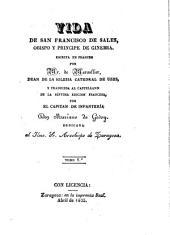 Vida de San Francisco de Sales obispo y principe de Ginebra