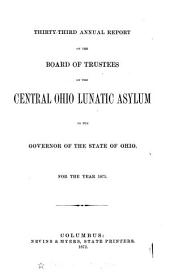 Biennial Report of the Columbus State Hospital, to the Governor of the State of Ohio, for the Biennial Period Ending ...
