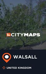 City Maps Walsall United Kingdom