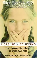 Hearing Is Believing PDF