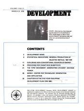 Philippine Development PDF