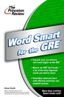 Word Smart for the GRE PDF