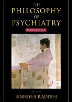 The Philosophy of Psychiatry PDF