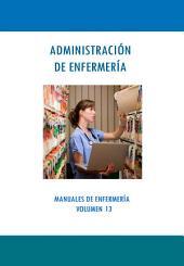 ADMINISTRACIÓN DE ENFERMERÍA