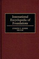 International Encyclopedia of Foundations PDF