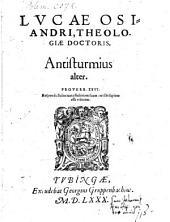 Antisturmius: Antisturmius alter, Volume 2