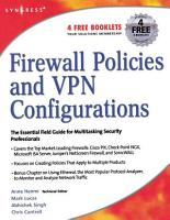Firewall Policies and VPN Configurations PDF