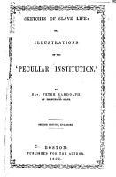 Sketches of Slave Life PDF