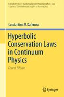 Hyperbolic Conservation Laws in Continuum Physics PDF