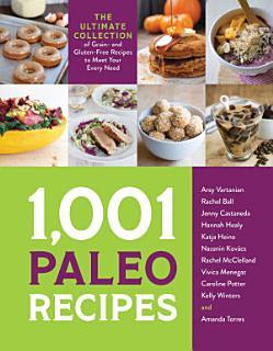 1 001 Paleo Recipes Book