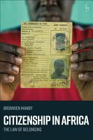 Citizenship in Africa PDF