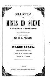 Marco Spada: opéra-comique en trois actes