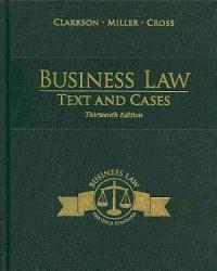 Business Law Text And Cases Book PDF