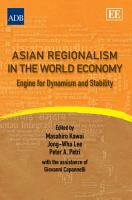 Asian Regionalism in the World Economy PDF