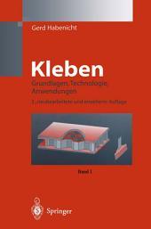 Kleben: Grundlagen, Technologie, Anwendungen, Ausgabe 3