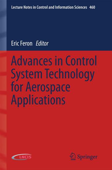 Advances in Control System Technology for Aerospace Applications PDF