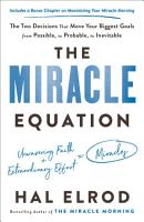 The Miracle Equation PDF