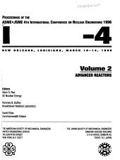 Proceedings of the ASME JSME     International Conference on Nuclear Engineering PDF