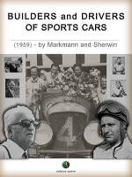 Builders and Drivers of Sports Cars PDF