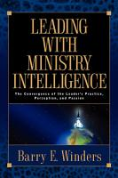 Leading with Ministry Intelligence PDF