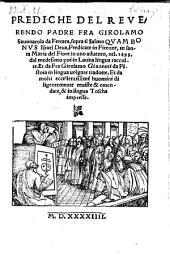 Prediche ... sopra il salmo: quam bonus Israel Deus ... dal medesimo in latina lingua raccolte e da Girolamo Giannoti in lingua volgare tradotte. - (Vinezia, Bern. Bindoni) 1544