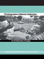 Photographs Objects Histories PDF