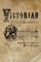 Victorian Reformations PDF