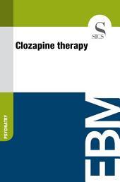Clozapine therapy