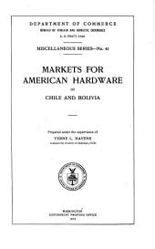 Markets for American Hardware in Chile and Bolivia