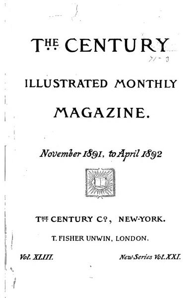 Download The Century Illustrated Monthly Magazine Book